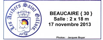 Beaucaire (30) Salle 17/11/2013