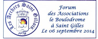 Forum des associations Boulodrome de Saint Gilles le 06 Septembre