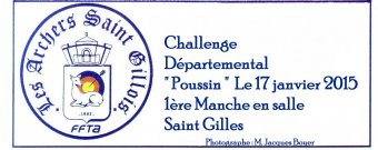 Challenge Poussin Salle Saint Gilles 17-01-2015 (Photos : Jacques Boyer)