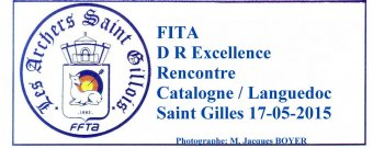 FITA DR Excellence Rencontre Catalogne/Languedoc 17/05/2015 (Photos: M.Jacques Boyer)