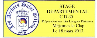 Stage départemental CD30