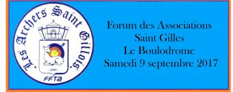 Forum des Associations Saint Gilles Le Boulodrome Samedi 9 septembre 2017