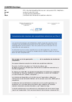 2015-07-03 Communication Documents FFTA